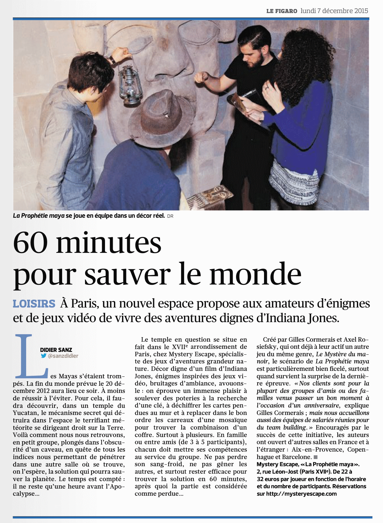 le figaro 07 dec 2015