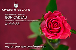 Bon Cadeau Rose